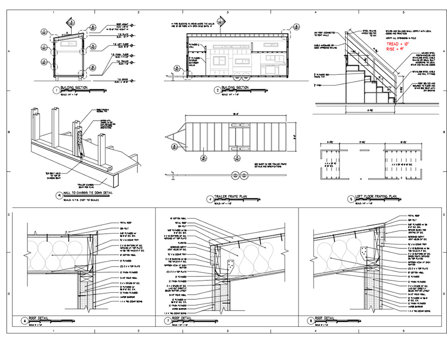 Tiny House Plans Architectural Tiny House Floor Plans