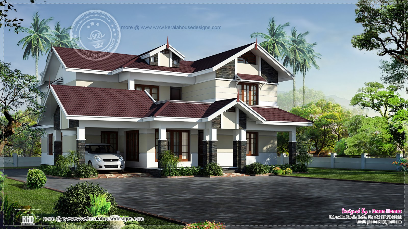 Most Beautiful Houses in Kerala Most Beautiful House in Sweden