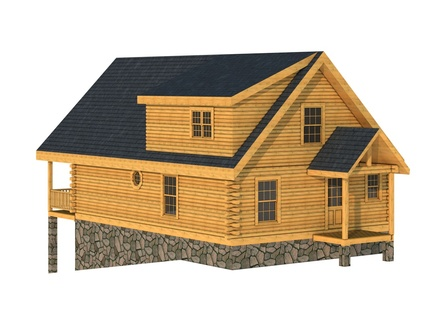 Small Log Cabin House Plans Log Cabin Home Plans