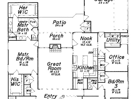 3000 Sq Ft. House 3000 Sq FT Ranch House Plans