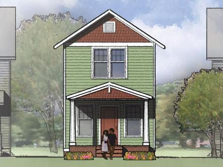 Small Two Story House Plans Designs Two-Story Small House Kits