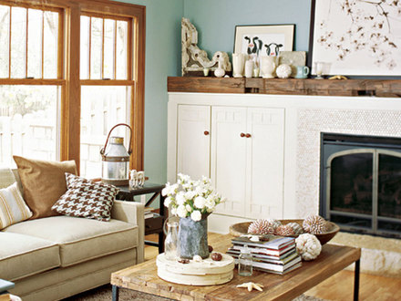 Warms Living Rooms Paint Color Living Room Wall Colors With Wood Trim Country Living Homes