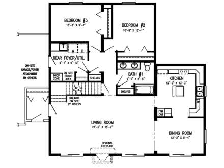 1.5 Story House Floor Plans Timber Home Floor Plans