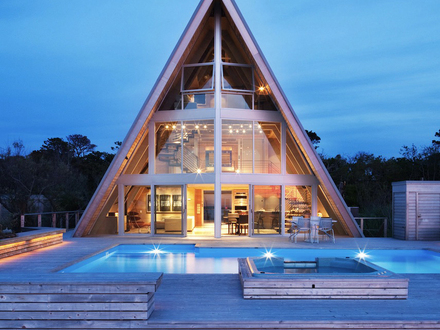 Architecture home modern house design modern home interior for Beach house drawing