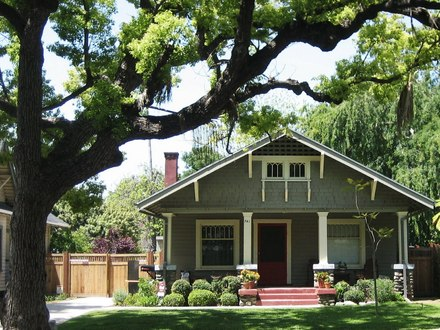 American Craftsman Bungalow Style Bungalow House Plans