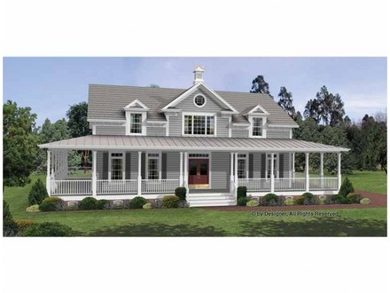 Colonial House Plans with Wrap around Porches 1800 From Colonial House Plans