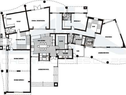 Contemporary House Floor Plans Open Contemporary House Plans