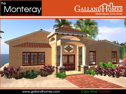 Kline galland seattle mediterranean homes galland homes for Mediterranean modular homes