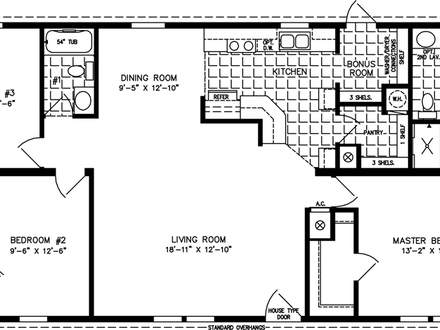 3 Bedroom 1200 Sq Ft House Plans 3 Bedroom House Small