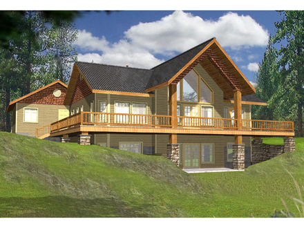 Lake House Plans with Porches Lake House Plans with Wrap around Porch