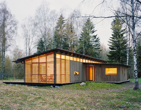 Romantic Cabins in the Woods Wood Cabin House Modern Design Homes