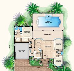 Florida Style House Plans with Pool Florida Cracker Style House Plans