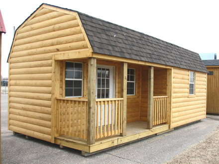 Log Cabin Portable Storage Buildings Portable Hunting Cabin