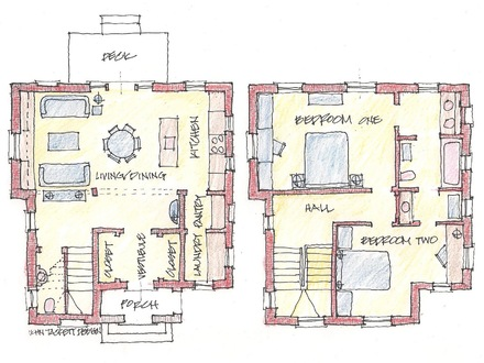 Family House Floor Plans Multi- Family Homes Floor Plans