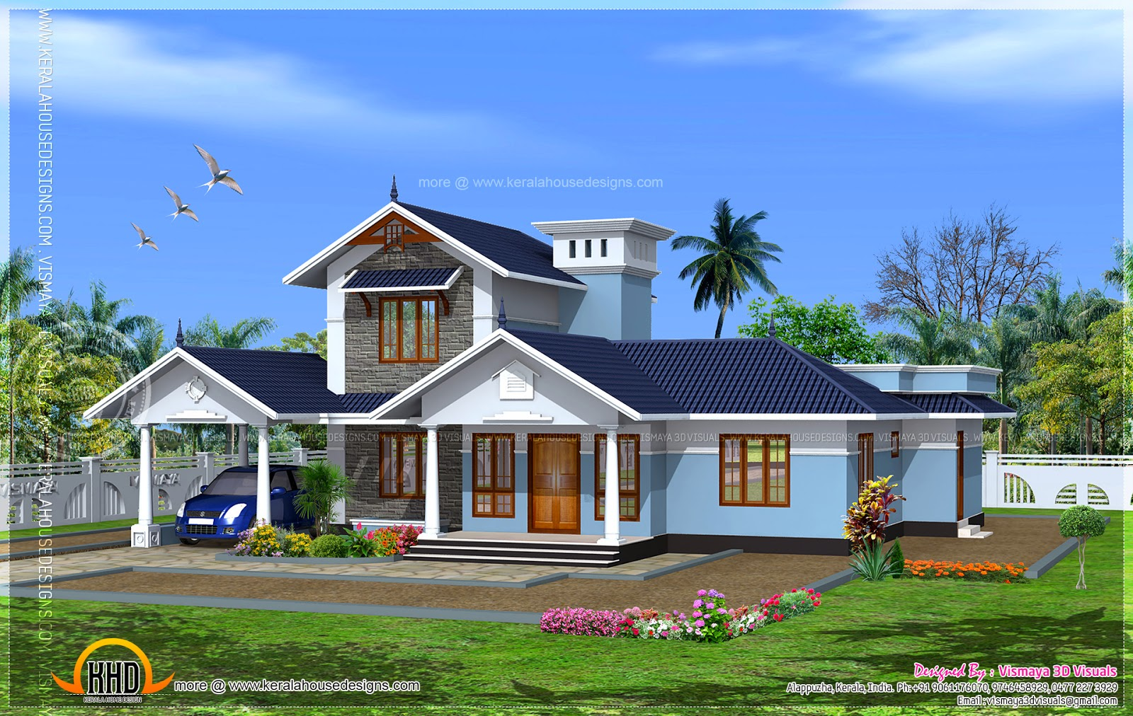 kerala model house floor plans kerala house photo gallery