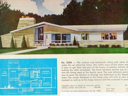 Mid century home plans mid century modern plans mid for Mid century modern ranch style house plans