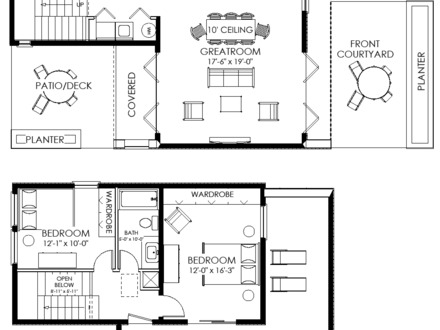 Small House Floor Plan Modern Small House Plans