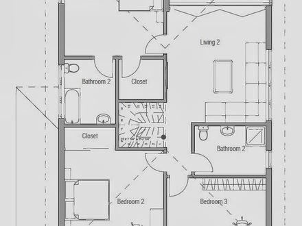 Affordable Modern House Plans Affordable Modern House Plan Simple Green Home Plans