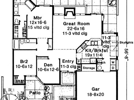 House plans 1500 sq ft no garage 1500 sq ft house plans for 1200 square foot house plans with basement