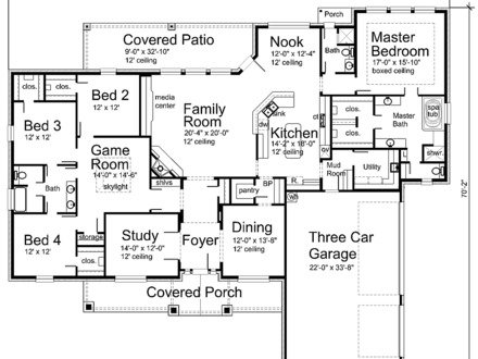 Modern House Plans House Floor Plan Design