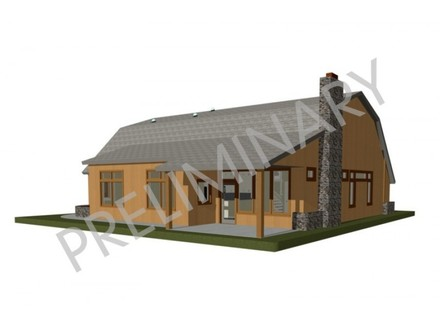 Small footprint house designs tiny a frame house plans for Small footprint cabin