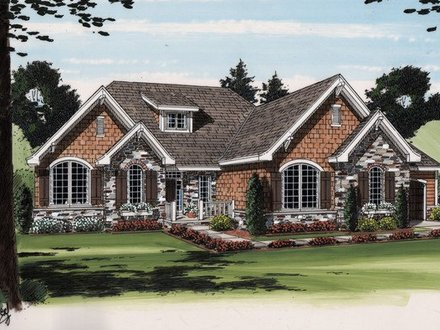 Cottage style ranch house plans country style homes for French country ranch home plans