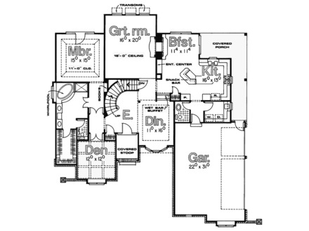 Old english tudor house plans old english tudor house for English tudor house plans