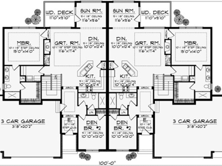 4 Bedroom 2 Bath House Plans 4 Bedroom 2 Bath House Plans