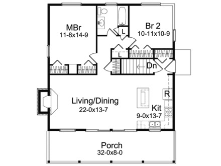Colorado vacation cabins vacation home cabin floor plans for Vacation cabin floor plans