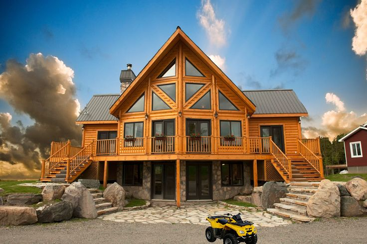 Log cabin homes idaho warm lake idaho cabin rentals cabin for Craftsman style homes for sale in boise idaho