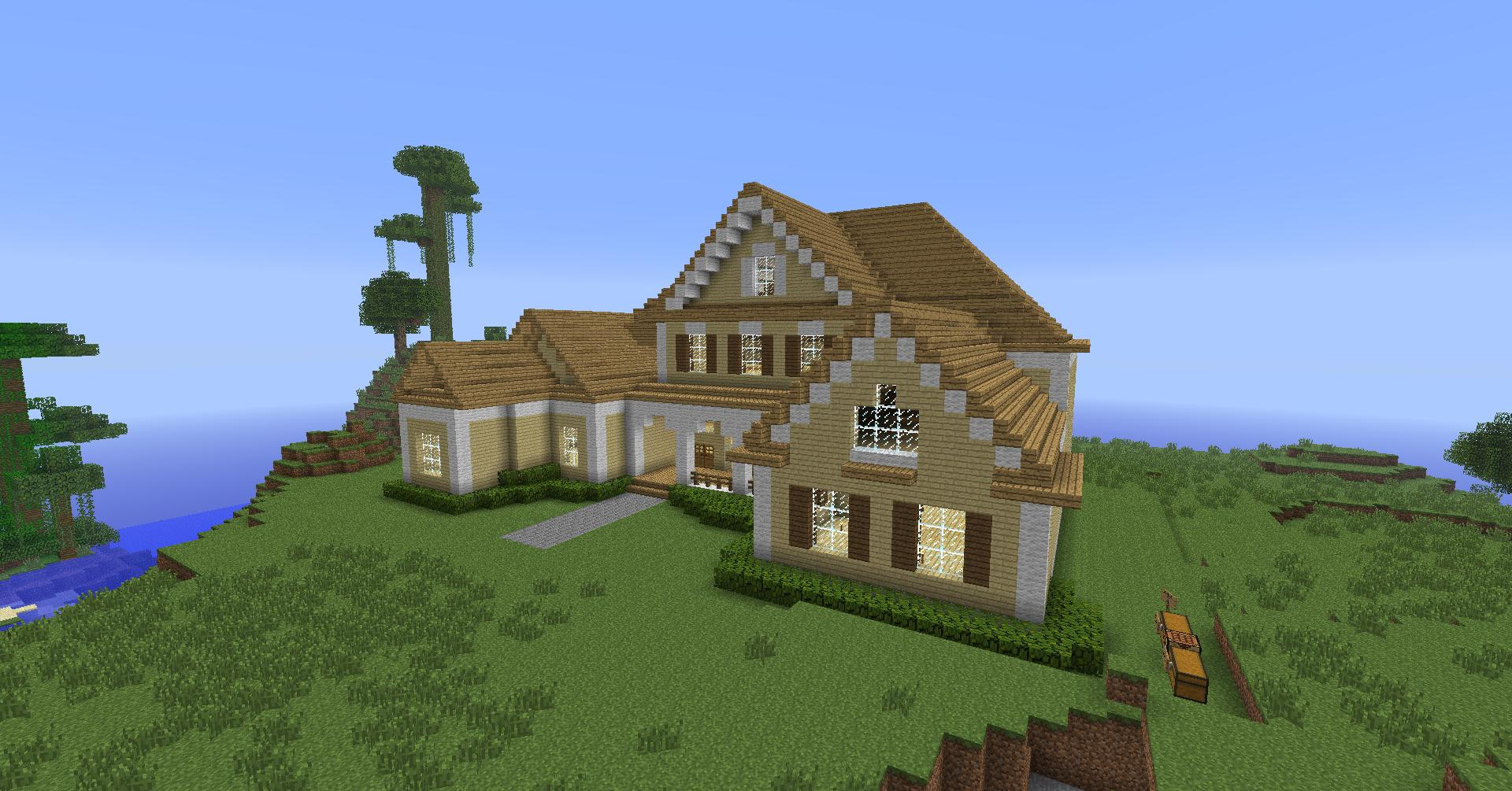 Minecraft House Roof Make a Roof in Minecraft