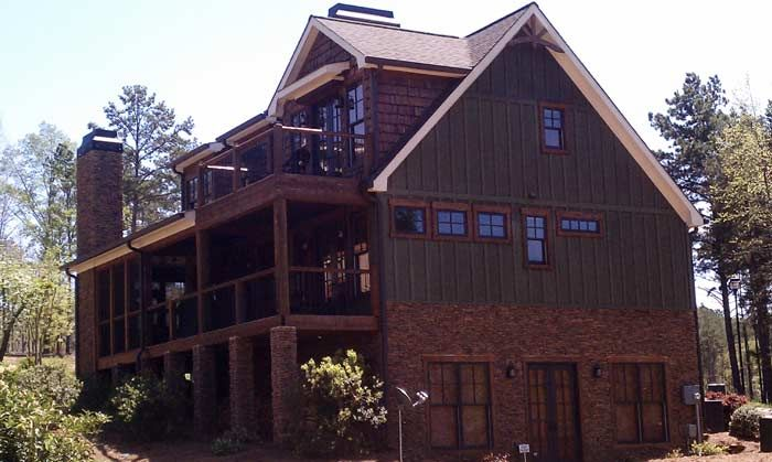 Rustic house plans with loft rustic house plans with for Lake cabin plans loft