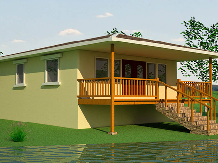 Beautiful small house plans tropical house plans small for Small tropical house