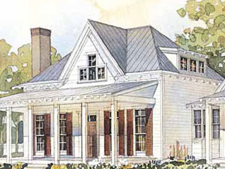 Cottage Living House Plans Cottage House Plans One Floor