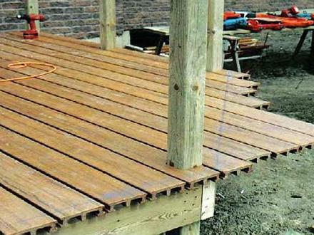 Wooden Deck Plans DIY Wood Decks Plans