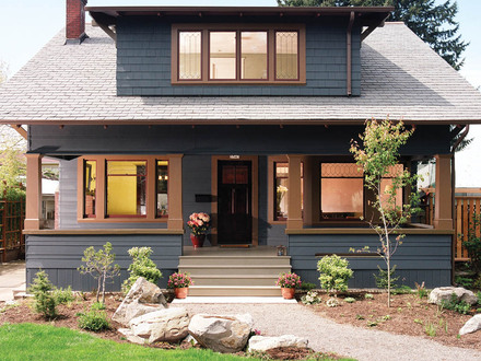 Craftsman House Elevations Craftsman Bungalow House Colors