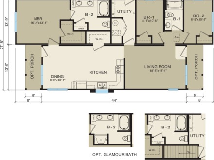 Modular Homes Floor Plans and Prices Modular Ranch Floor Plans