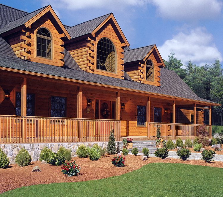 Northeastern Log Homes Prices Log Home Interiors, modern log