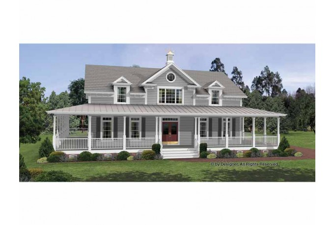Colonial House Plans With Wrap Around Porches Modern Day