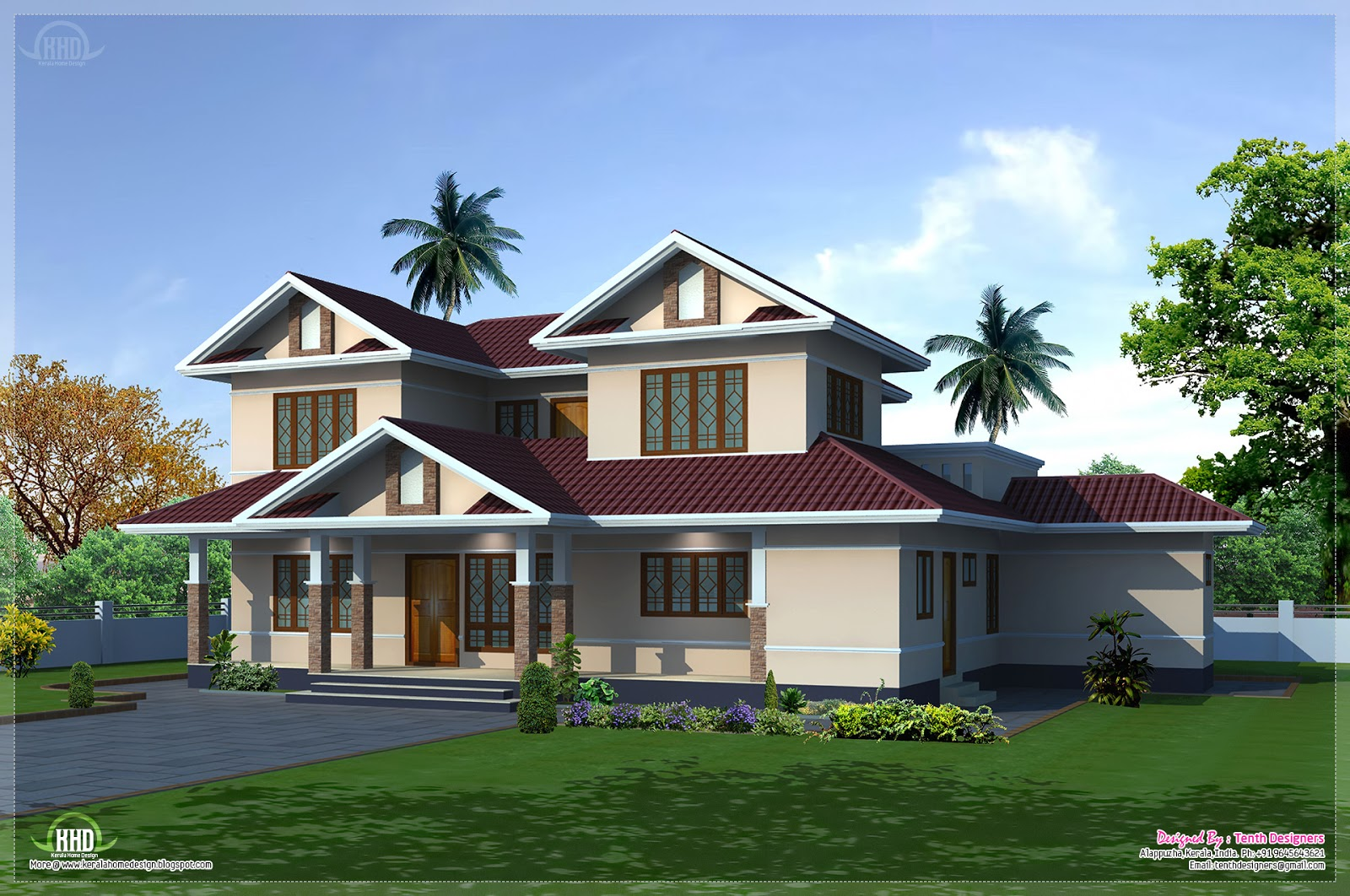 Exterior traditional house plans exterior house designs for Home designs traditional