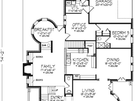 One Story Farmhouse Plans With Porches One Story Farmhouse