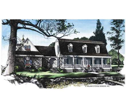 Dutch Colonial Homes House Plans Spanish Colonial House