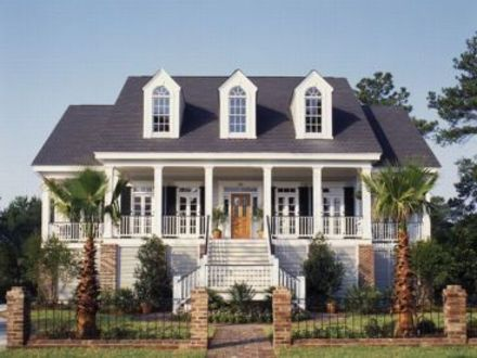Southern Country Farmhouse Southern Cape Cod Style House Plans