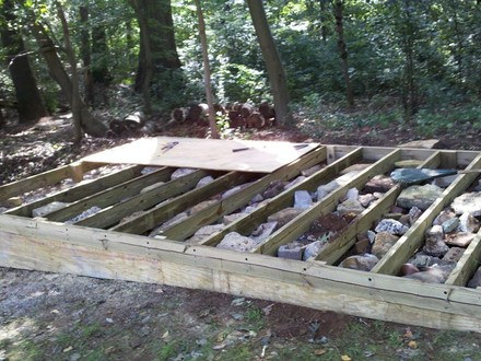 Build a Simple Shed How to Build Shed Foundations