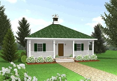 Country Cottage House Plans with Porches Tiny Romantic Cottage House Plan