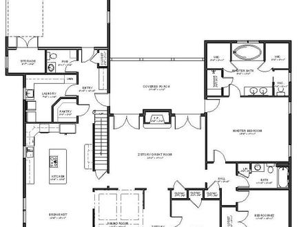 Cape cod house plans one story cape cod cottage house for One story cape cod house plans