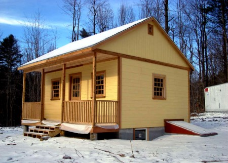 20X20 Cabin Plan with Loft 20X20 Cottage Plans
