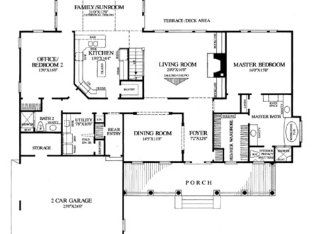Colonial Farmhouse Floor Plans Old Colonial House Plans
