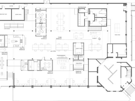 Architectural Floor Plans with Dimensions Architectural Office Floor Plan