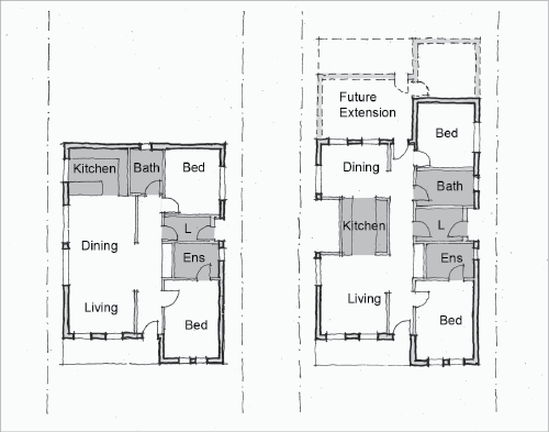 Small Rental House Plans Affordable Small House Design